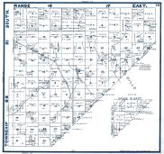 Sheet 018 - Townships 21 and 22 S., Ranges 16 and 17 E., Township 21 S., Range 18 E., Fresno County 1923